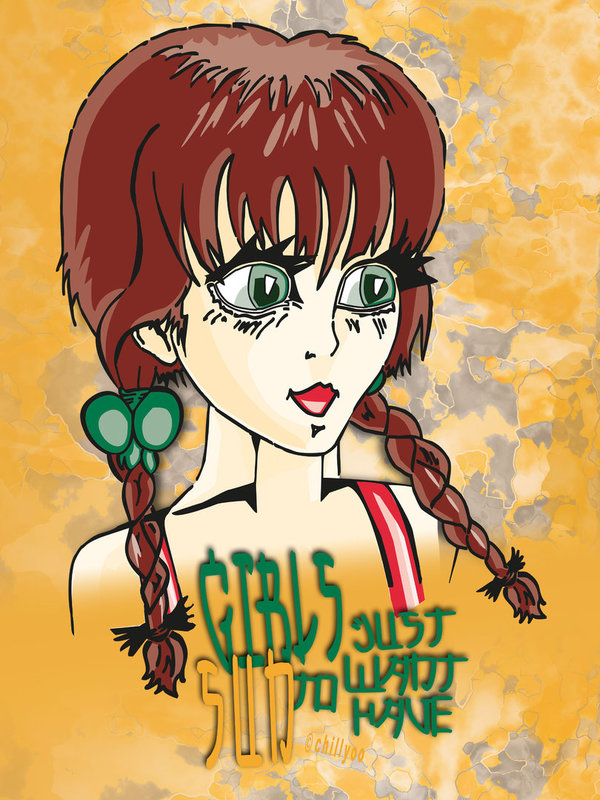 "comic art ""Girls Just Want To Have Sun #01"",  Poster"